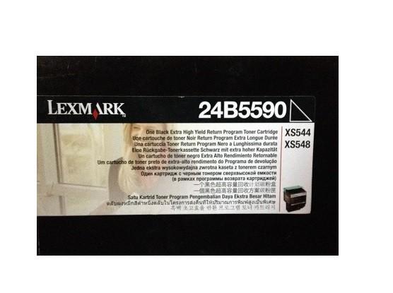 Original Lexmark Toner 24B5590 schwarz für XS 540 544 548