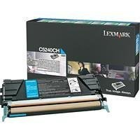 Original Lexmark Toner C5240CH cyan für C 534 C 524 B-Ware