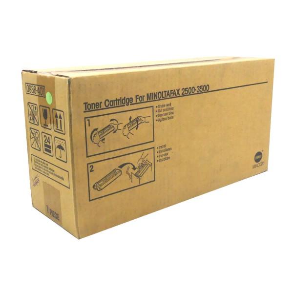 Original Konica Minolta Toner Minoltafax (0938-401) schwarz für Fax 3500 B-Ware