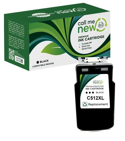 REMAN XL TINTE PATRONE PG-512 PIXMA MP270 MP280 MP490 MP495