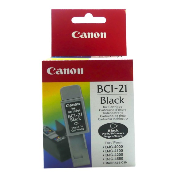 Canon BCI-21 BK (0954A002) OEM