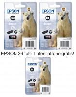 2x Original Epson 26 Foto Tinte Patronen XP625 XP700 XP710 XP720 XP800