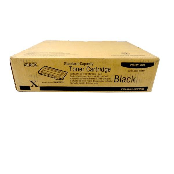 Original Xerox Toner 106R00679 schwarz für Phaser 6100 B-Ware