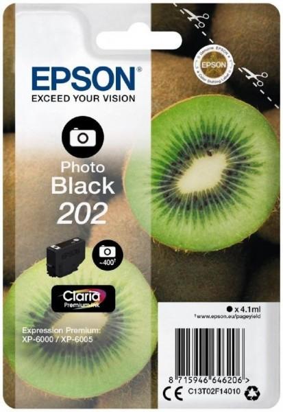 Epson 202 Photo BK (C13T02F14010) OEM