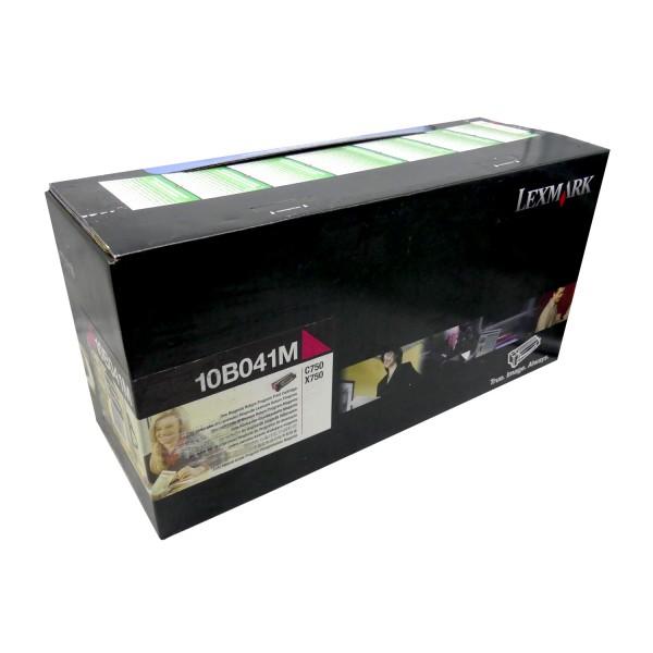 Original Lexmark Toner 10B041M für C750 C750n X750 750 Neutrale Schachtel