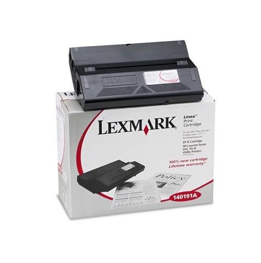 Original Lexmark Toner 140191A schwarz für HP Laserjet 4SI Neutrale Schachtel