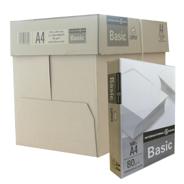 45645_2500_Blatt_Papier_A4_Druckerpapier_Kopierpapier_Laserpapier_Faxpapier_weiß