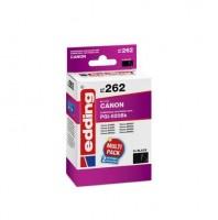 Original Edding Tinte Patrone 262 für Canon PGI-520 BK 2erPack Pixma IP 3600 4600 4700