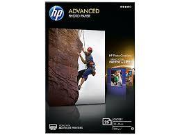 HP Advanced Fotopapier (Q8691A) glänzend 10x15cm 25 Blatt 250g