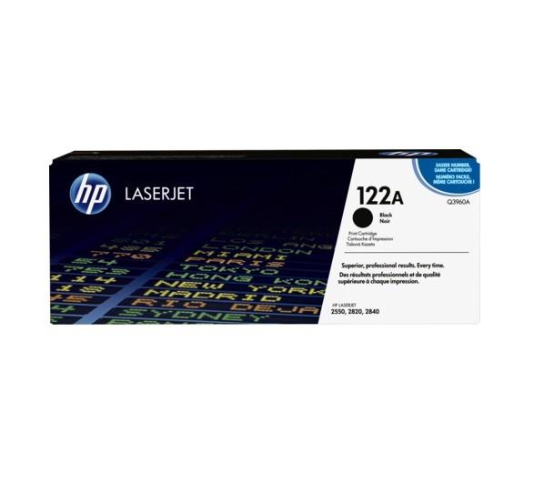 Original HP Toner Q3960A 122A Black für Laserjet 2550 2820 2840 Cartridge