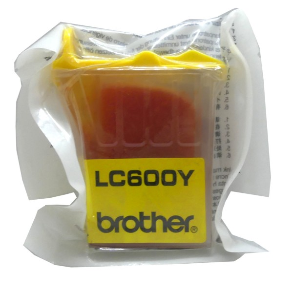 Brother LC-600 YE OEM Blister