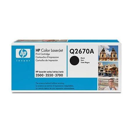 Original HP Toner 308A Q2670A schwarz für LaserJet 3500 3550 3700 Series