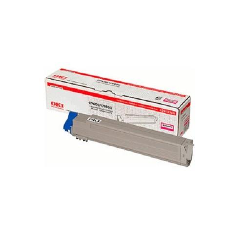 Original OKI Toner 42918914 magenta für C 9600 9650 9800 9850 Neutrale Schachtel