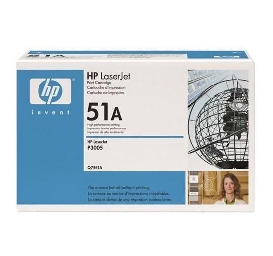 Original HP Toner 51A Q7551A LaserJet P3004 P3005 M3027 M3035