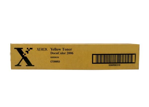 Original Xerox Toner 006R90310 gelb für DocuColor 2006