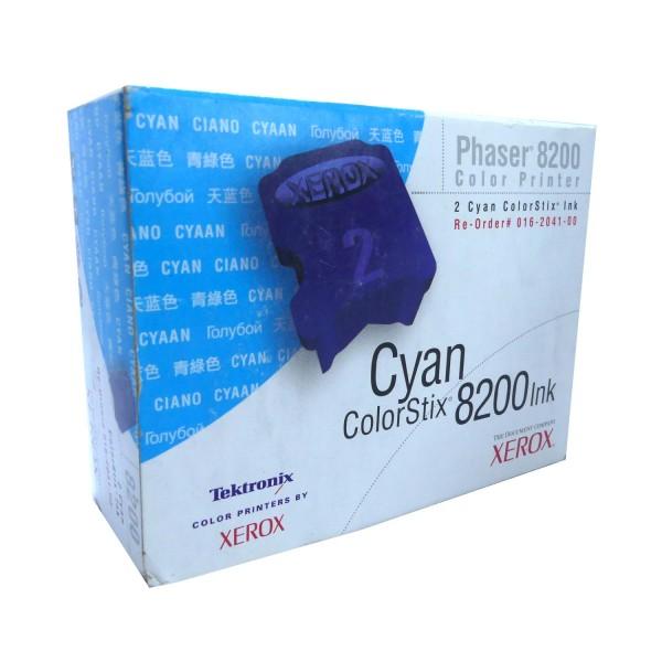 Original Xerox Tinte 016204100 cyan für Phaser 8200