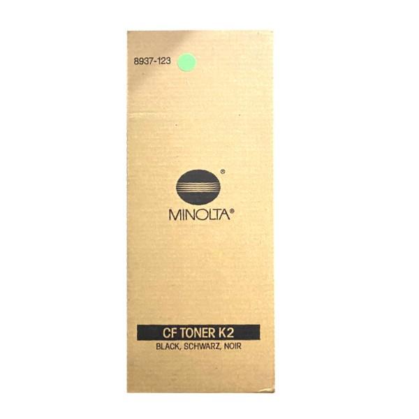 Original Konica Minolta Toner CF K2 (8937-123) schwarz für CF 9001