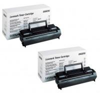 2x Original Lexmark Toner 69G8256 schwarz für Optra E Neutrale Schachtel