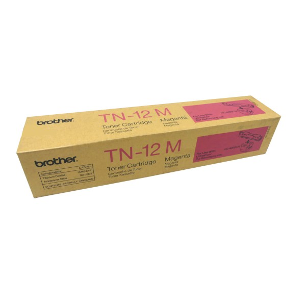 Original Brother Toner TN-12M magenta für HL 4200 CN