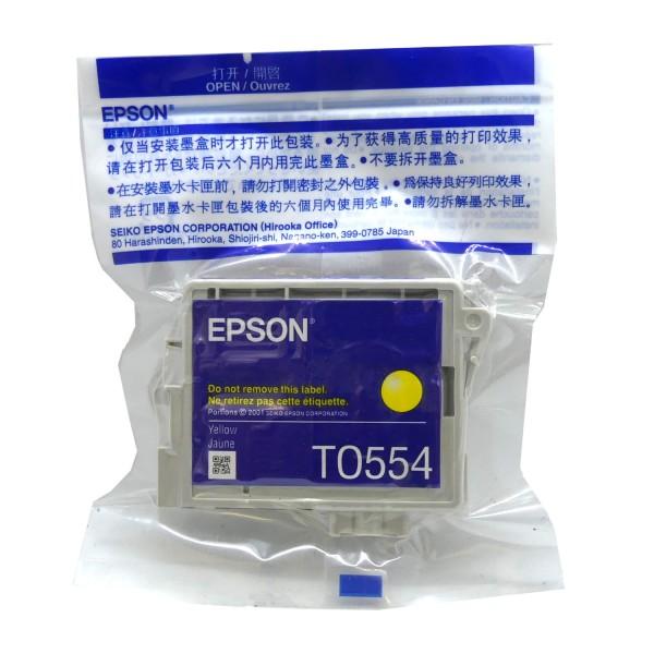 Epson T0554 YE (C13T05544010) OEM Blister