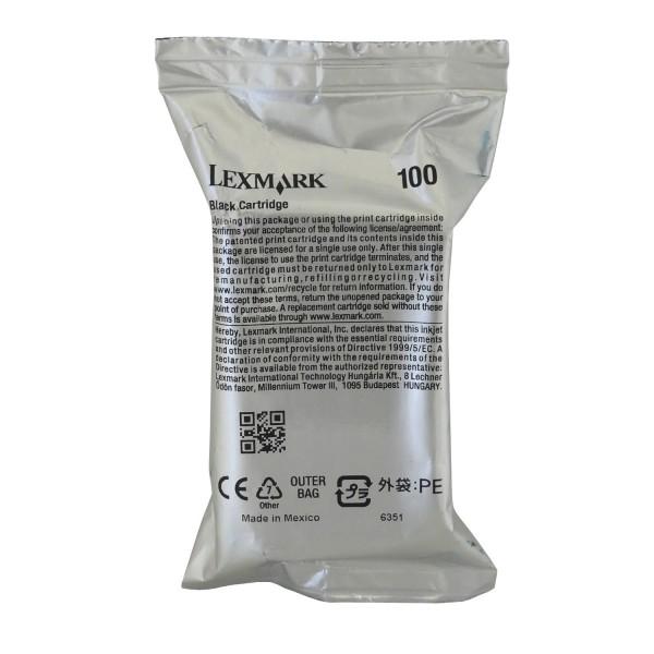 Lexmark 100 BK (14N0820E) OEM Blister