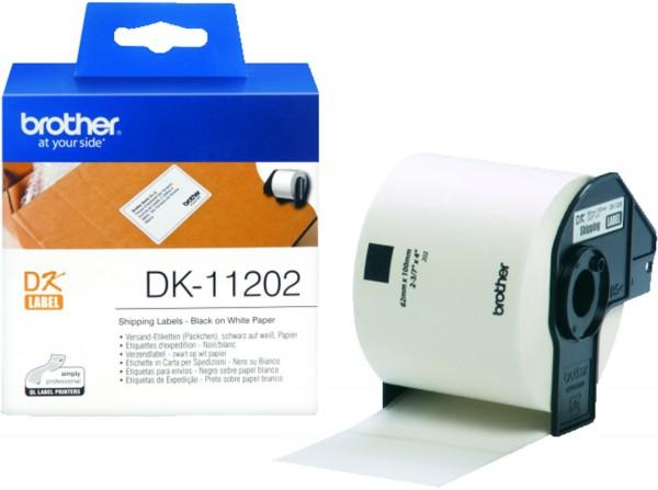 48643_Original_Brother_Etiketten_DK-11202_für_P-Touch_QL_500_550_560_1050_1060_1110