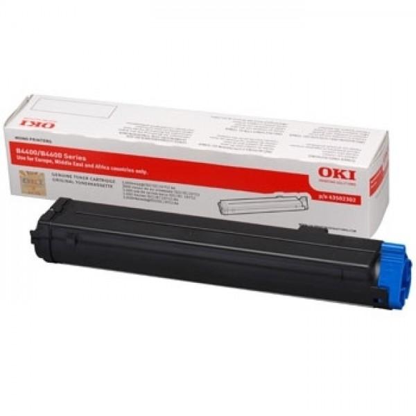 Original OKI Toner 43502002 schwarz für B4600 B-Ware