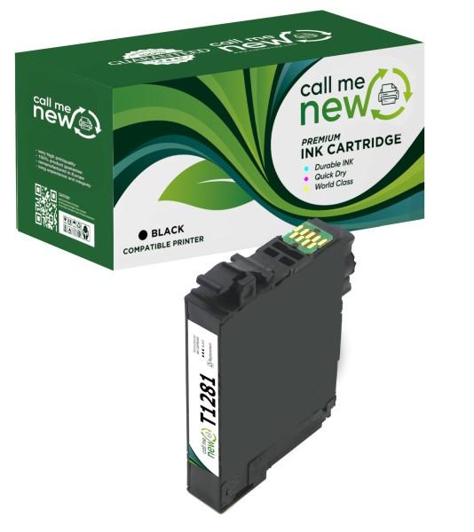 Epson T1281 BK (C13T12814011) Reman