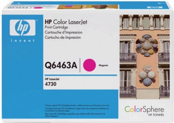 Original HP Toner Q6463A 644A für Color Laserjet 4730 4730X Neutrale Schachtel