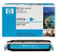 Original HP Toner C9721A 641A für Color Laserjet 4600 4600DN 4650 B-Ware