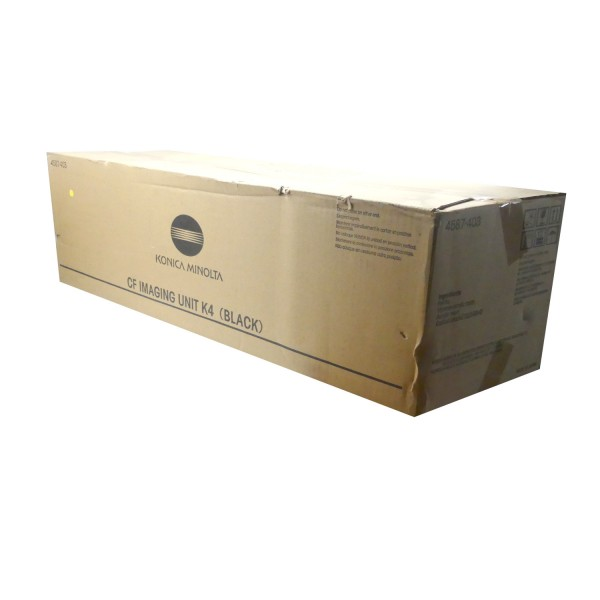 Original Konica Minolta Toner CF K4 (4587-403) schwarz für CF 3102 B-Ware