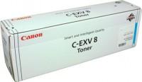 Original Canon Toner 7628A002 C-EXV 8 cyan für iR CLC C3200 C3220N Neutrale Schachtel