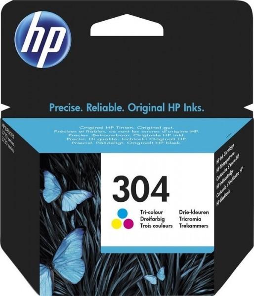 Original HP 304 Tinte Patronen farbig für DESKJET 3720 3730 3732 3733 MHD