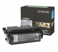 Original Lexmark Toner 12A6835 schwarz für Optra T520 T522 T522N X520 B-Ware