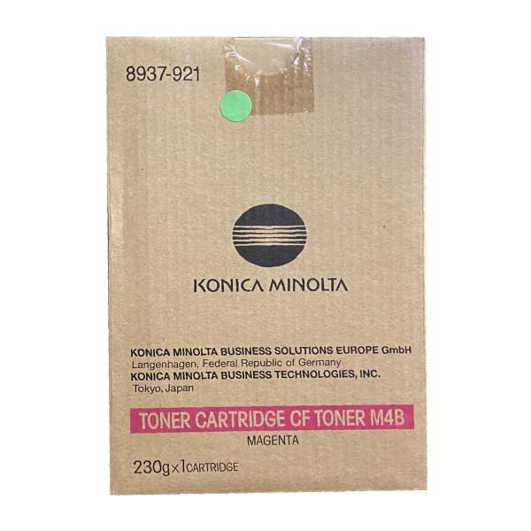 Original Konica Minolta Toner CF M4B (8937-921) magenta für CF 2002