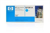 Original HP Toner 503A Q7581A cyan für LaserJet CP3505 3800 B-Ware