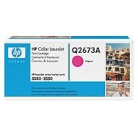 Original HP Toner 309A Q2673A magenta für LaserJet 3500 3550 B-Ware