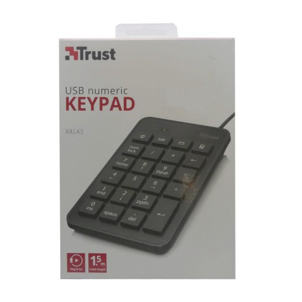 46885_Trust_USB_numeric_Zifferntastatur_XALAS_schwarz_Computer
