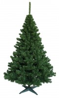 Weihnachtsbaum Grün Tanne (Größe: 80 cm)