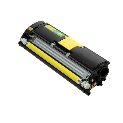 Original Konica Minolta Toner 1710587-005 gelb für Magicolor 2400 W Neutrale Schachtel