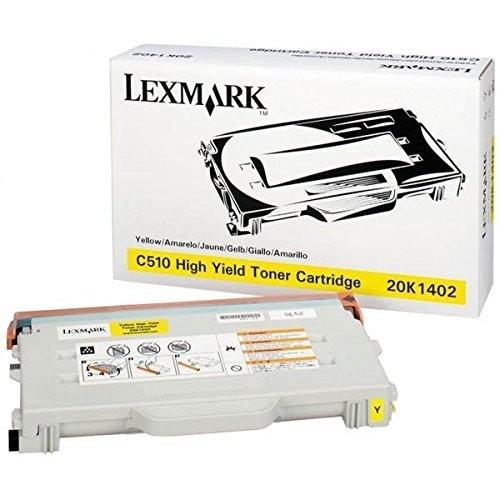 Original Lexmark Toner 20K1402 gelb für C 510 DTN N B-Ware