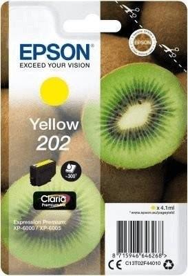 Original Epson Tinte 202 gelb für Expression Premium XP 6000 6005 6100 6105