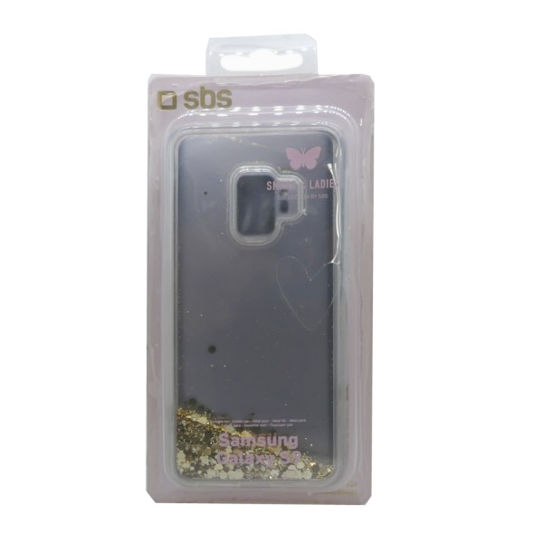 46985_SBS_Handyhülle_Gold_Cover_Samsung_Galaxy_S9_Glitter_transparent