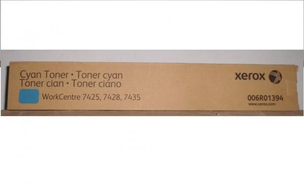 Original Xerox Toner 006R01394 cyan für WorkCentre 7425 7428 7435 Neutrale Schachtel