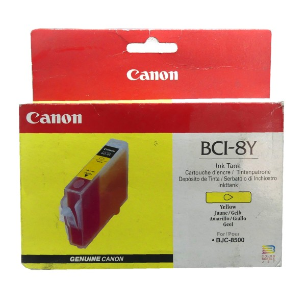 Canon BCI-8 YE (0981A002) OEM