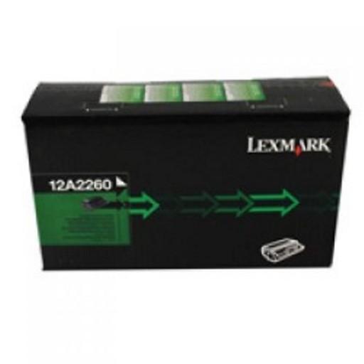 Original Lexmark Toner 12A2260 schwarz für E 320 322
