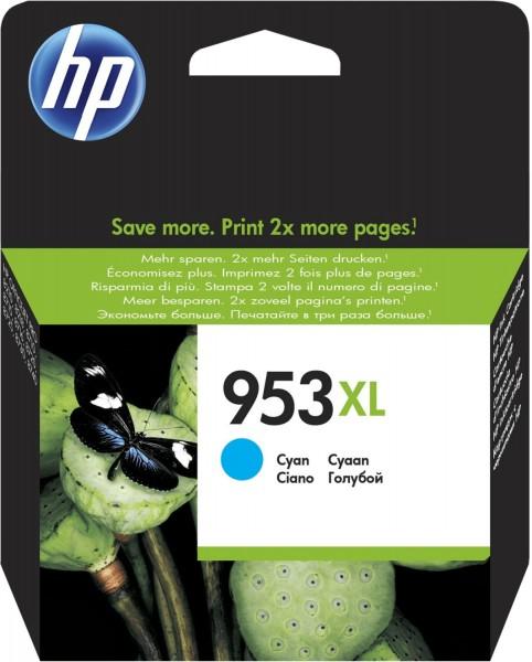 Original HP 953XL Tinte Patrone cyan OfficeJet Pro 8210 8218 8710 8715 MHD