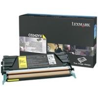 Original Lexmark Toner C5342YX gelb für Optra C 534 / C 534 B-Ware