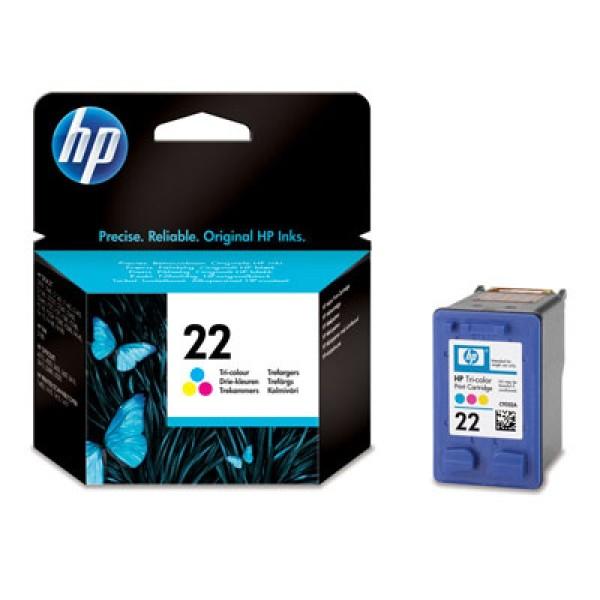 Original HP Tinte Patrone 22 DESKJET 3920 3940 D1360 D1460 D1560 D2360 MHD