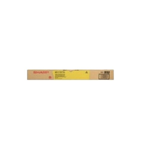 Original Sharp Toner MX-27GTYA gelb für MX 2300 2700 3500 3501 Neutrale Schachtel